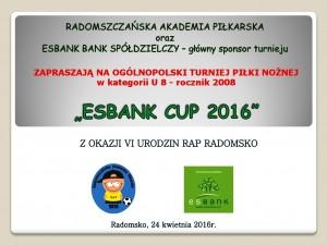 EsbankCUP2016